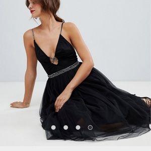 ✨ NWT ASOS Tulle Rhinestone Dress